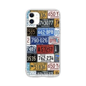 License Plate Pattern iPhone 11 Pro Max Case 💙